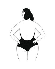 Image of Swimmer print