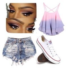 Senza titolo #53 by hopegloverglow on Polyvore featuring moda and Converse