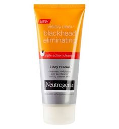 Neutrogena Visibly Clear Blackhead Eliminating Triple Action Cleanser 100ml - Boots