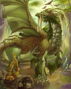 Dragons of the Wood