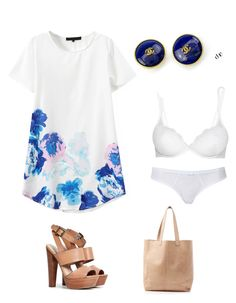"""Summer evening party for 26th July, 2015."" by avita-co ❤ liked on Polyvore"