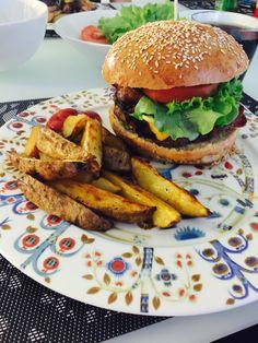 Homemade burgers ❤️