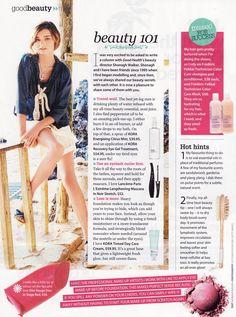 Miranda Kerr: Australian Good Health March 2010   Sassi Sam Girlie Gossip Files