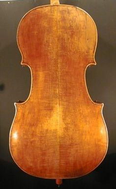 cello Grancino. back
