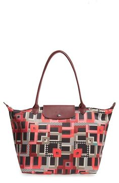Longchamp 'Large Le Pliage - Artwalk' Tote available at #Nordstrom