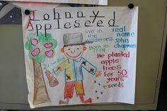 Johnny Appleseed GLAD pictoral input