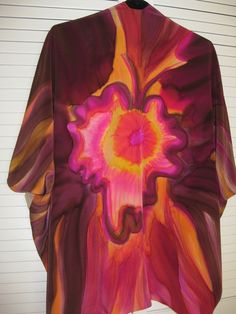 9e32a2c220a5 Flying Free Silk Jacket by Carol Lorraine - Alive With Creating Silk  Jacket