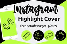 Iconos De Instagram Stories Fitness. - Radisel Batista Marca Personal, Company Logo, Fitness, Instagram Tips, Innovative Products, Social Networks, Icons