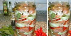 Food 52, Mason Jars, Food And Drink, Menu, Lunch, Homemade, Canning, Drinks, Small Meals