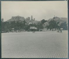 Italia, Roma, Terme di Diocleziano, ca. 1905
