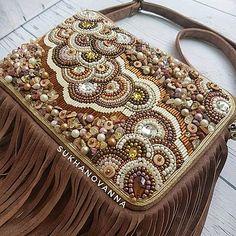 Embroidery Patterns Free, Beaded Bags, Shoulder Bag, My Favorite Things, Bag, Shoulder Bags