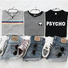 """156 Gostos, 3 Comentários - OOTD OUTFITS TUMBLR (@outfit.layout) no Instagram: """"P H S Y C H O [@megoosta] Follow @ashnaty19 @ashnaty19 @ashnaty19 @ashnaty19 . . . .…"""""""