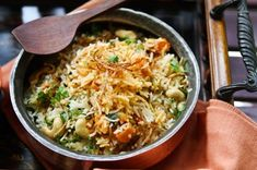 Biryani was originally a dish created for the Moghul emperors and was a very complicated affair. This is a simple variation and quick to coo...