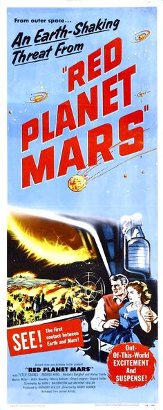The very Earth-bound Red Planet Mars (1952)