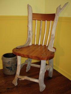DRIFTWOOD CHAIR - BLUEWING DESIGN - Driftwood Furniture, Nature Arts, Crafts