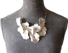 Hey, I found this really awesome Etsy listing at https://www.etsy.com/listing/292743967/necklace-porcelain-flowers-ceramic
