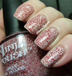 Ninja Polish Holiday 2012 - Candy Cane Floam