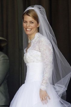 Kelly Jeanne Rondestvedt on her wedding day to Prince Hubertus