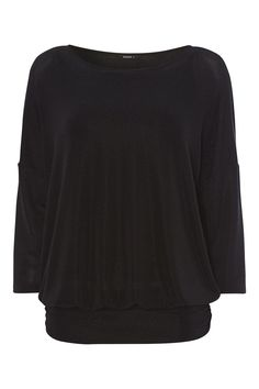 Ideal for every wardrobe this season, this sparkly jersey top features an oversized fit with a band at the hem to create a flattering silhouette. Wear with coated jeans and heels for an evening out.