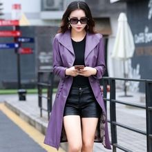 FREE Shipping Worldwide|    Cutting edge arriving Wholesale Fashion New Women's Leather Trench Coat Female Korean Slim Long Ladies Long Jacket Senoras chaqueta al aire libre now on discount sales $US $72.00 with free delivery  you can buy this kind of item as well as far more at our estore      Get it now on this site >> https://tshirtandjeans.store/products/wholesale-fashion-new-womens-leather-trench-coat-female-korean-slim-long-ladies-long-jacket-senoras-chaqueta-al-aire-libre…