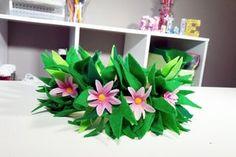 Moana Birthday Party Theme, Moana Theme, Moana Party, Birthday Diy, 3rd Birthday Parties, Birthday Ideas, Fourth Birthday, Diy Flower Crown, Diy Flowers