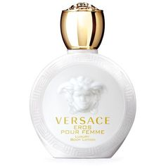 Versace Eros Femme Body Lotion (1.035 CZK) ❤ liked on Polyvore featuring beauty products, bath & body products, body moisturizers, perfume, makeup, filler, versace, versace perfume and body moisturizer