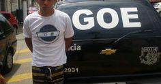 Policiais do GOE prendem foragido da Justiça em São Vicente, litoral de SP