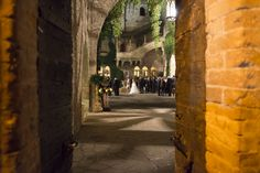 The magic atmosphere of an antique castle to celebrate the most romantic wedding...