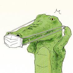 Life Of Crocodile Life Of Crocodile, Crocodile Animal, Crocodile Illustration, Illustration Art, Cute Animal Illustration, Animal Sketches, Animal Drawings, Cultures Du Monde, Crocodiles