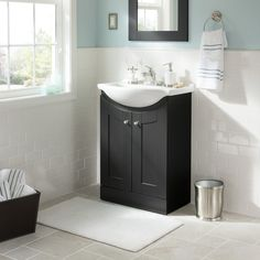 Shop Style Selections Euro Vanity Espresso Belly Bowl Single Sink Bathroom  Vanity With Vitreous China Top