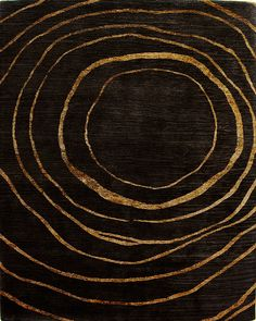 Rumors Wheat/Chocolate Rug from the Tibetan Rugs 1 collection at Modern Area Rugs