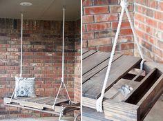 Porch Swing   Creative Ways to Repurpose Pallets