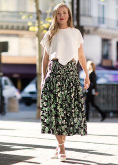She Wears The Clothes / Kate Foley, Fashion Week / Garance Doré