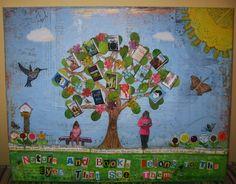 Book Tree Mixed Media