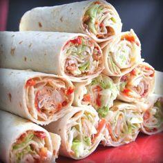 Ww Recipes, Lunch Recipes, Cooking Recipes, Healthy Recipes, Delicious Recipes, Recipes For Wraps, Simply Recipes, Salad Recipes, Clean Eating