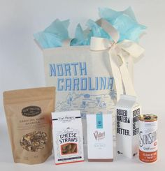 North Carolina Canvas Tote Welcome Bag