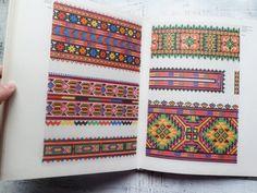 Big vintage book of Ukrainian folk embroidery by HandyHappyBooks