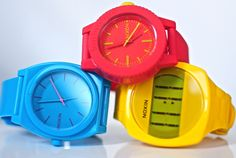 Top 10 Best Fancy Watches of 2013 for Men Fancy Watches, Happy Colors, Color Themes, Color Combos, Primary Colors, Yellow, Blue, Colours, My Style