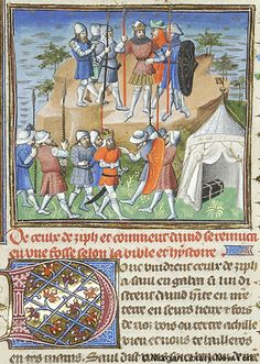 Bible Historiale, MS M.394 fol. 126r - Images from Medieval and Renaissance Manuscripts - The Morgan Library & Museum