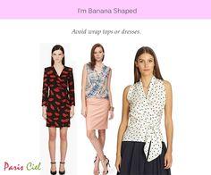 Tips & Tricks To Dressing Banana Body Shape ← Paris Ciel - EN