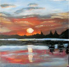 painting acrylic canvas