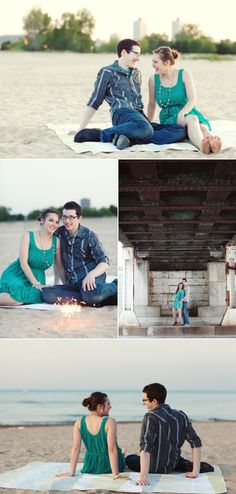 Chicago Engagement by Ashley Biess Photography
