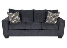 Just for You Trapp Sofa - Latitude Run Quality Furniture, Furniture Styles, Sofa Furniture, Living Room Furniture, Furniture Ideas, Homemakers Furniture, Soft Seating, Gray Sofa, Best Sofa