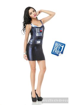 Hey, I found this really awesome Etsy listing at https://www.etsy.com/listing/191412348/darth-vader-dress-star-wars-clothing