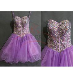 Charming Homecoming Dresses,Organza Homecoming Dress,Beading Homecoming Dress,Layers Homecoming Dress,Sweetheart Homecoming Dress
