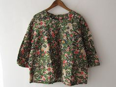 drop thrift shop purchase / Mina perhonen Actual purchase flower bedblouse / [drop]