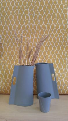 Carafe -vase Cléo Joffre en exclusivité chez The Collection - Papier peint Eley Kishimoto