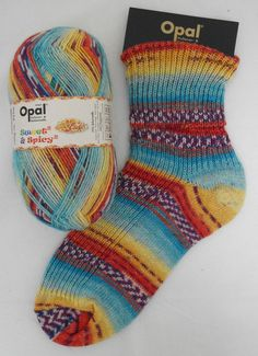 "Woolstack - Opal ""Sweet and Spicy 2"" Sock Yarn - Sprinkles (8613), �7.95 (http://www.woolstack.co.uk/opal-sweet-and-spicy-2-sock-yarn-sprinkles-8613/)"