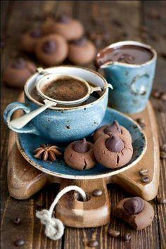 Coffee and chocolate maroons.