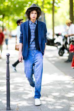 Street Style с мужской Недели моды в Париже: Часть 2